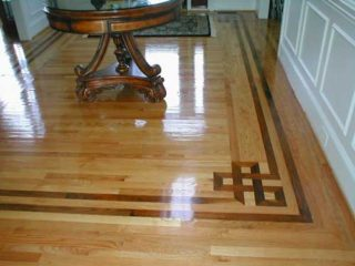 Hardwood Floors Border Designing